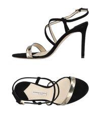 Roberto Festa - Black Sandals - Lyst