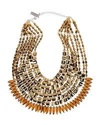 NIGHTMARKET.IT | Metallic Necklace | Lyst