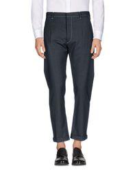 Prada - Gray Casual Pants for Men - Lyst