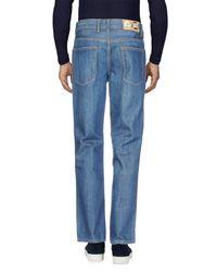 Cheap Monday Blue Denim Pants for men