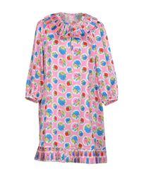 Manoush - Pink Short Dress - Lyst