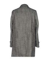 Drumohr | Black Coat | Lyst