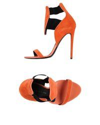 Gianmarco Lorenzi - Orange Sandals - Lyst
