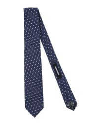 DSquared² - Blue Ties for Men - Lyst