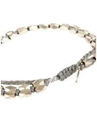 M. Cohen - Gray Bracelet - Lyst