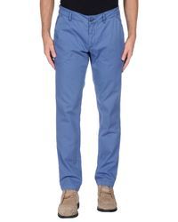 Alessandro Dell'acqua - Blue Casual Pants for Men - Lyst