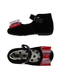Moschino - Black Ballet Flats - Lyst
