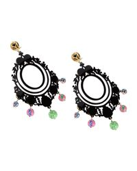 Mercantia - Black Earrings - Lyst