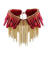 Sveva Collection - Red Necklace - Lyst