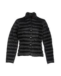 Peuterey - Black Down Jacket - Lyst