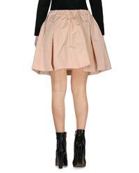RED Valentino - Pink Mini Skirt - Lyst