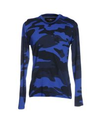 Hydrogen | Blue T-shirt for Men | Lyst