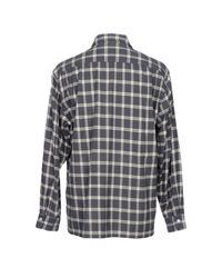 Camoshita - Gray Hemd for Men - Lyst