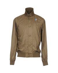 K-Way Multicolor Jacket for men