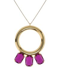 Gogo Philip - Metallic Necklace - Lyst