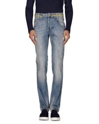Frankie Morello - Blue Denim Pants for Men - Lyst