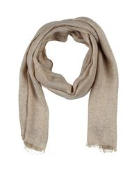MICHAEL Michael Kors - Natural Scarf - Lyst