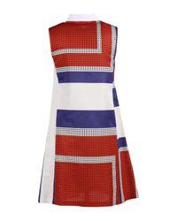 Suno - White Short Dress - Lyst