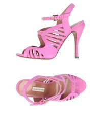 L'Autre Chose - Purple Sandals - Lyst
