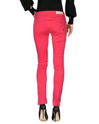 Twin Set - Red Casual Trouser - Lyst