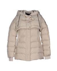 Just Cavalli - Natural Down Jacket - Lyst