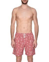La Perla - Pink Swim Trunks for Men - Lyst