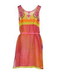 P.A.R.O.S.H. - Purple Knee-length Dresses - Lyst