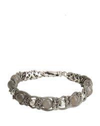 Emanuele Bicocchi - Gray Bracelet for Men - Lyst