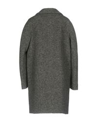 Carven - Gray Coat - Lyst