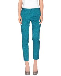 Pt0w - Blue Casual Pants - Lyst