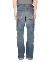 PRPS Blue Denim Pants for men