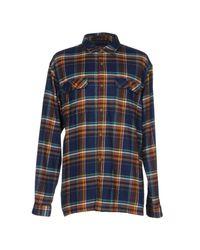 Patagonia - Blue Shirt for Men - Lyst