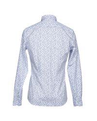 AT.P.CO - White Shirt for Men - Lyst