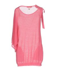 Twin Set - Pink Sweater - Lyst