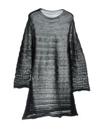 HaaT - Black Short Dress - Lyst