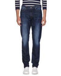 Liu Jo - Blue Denim Trousers for Men - Lyst
