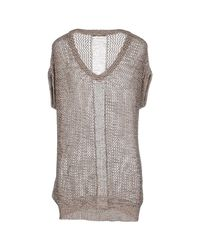 Relish - Natural Sweaters - Lyst