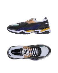 Alexander McQueen X Puma | Black Low-tops & Sneakers for Men | Lyst