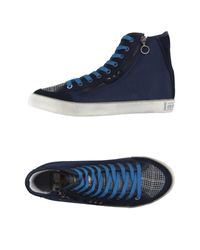 Lambretta - Blue High-tops & Trainers for Men - Lyst
