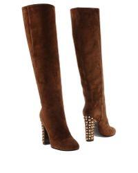 Dolce & Gabbana - Brown Boots - Lyst