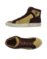 Armani Jeans | Brown High-tops & Trainers for Men | Lyst