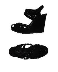 Pedro Garcia - Black Sandals - Lyst