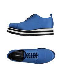 Ermanno Scervino - Blue Lace-up Shoe - Lyst