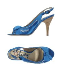 Replay | Blue Sandals | Lyst