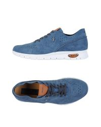 Cesare Paciotti - Blue Low-tops & Trainers for Men - Lyst