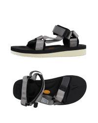 Suicoke | Gray Sandals for Men | Lyst