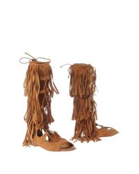 Space Style Concept | Brown Boots | Lyst