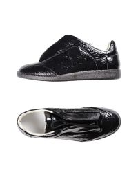 Maison Margiela - Black Low-tops & Sneakers - Lyst