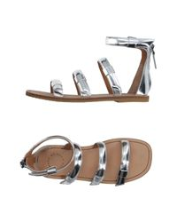 Marc By Marc Jacobs | Gray Sandals | Lyst