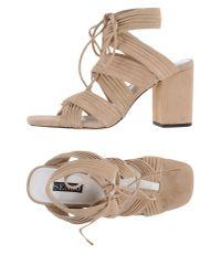 Senso - Natural Sandals - Lyst